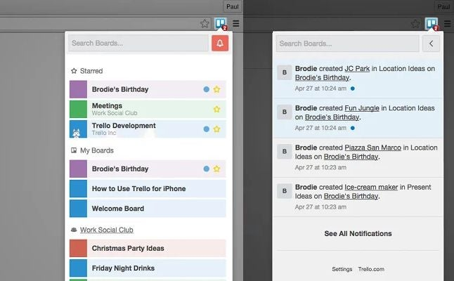 Boards for Trello Gives Quick Access to Your Boards in Chrome