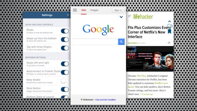 Browsy Is a Fullscreen, Distraction-Free Browser for iOS
