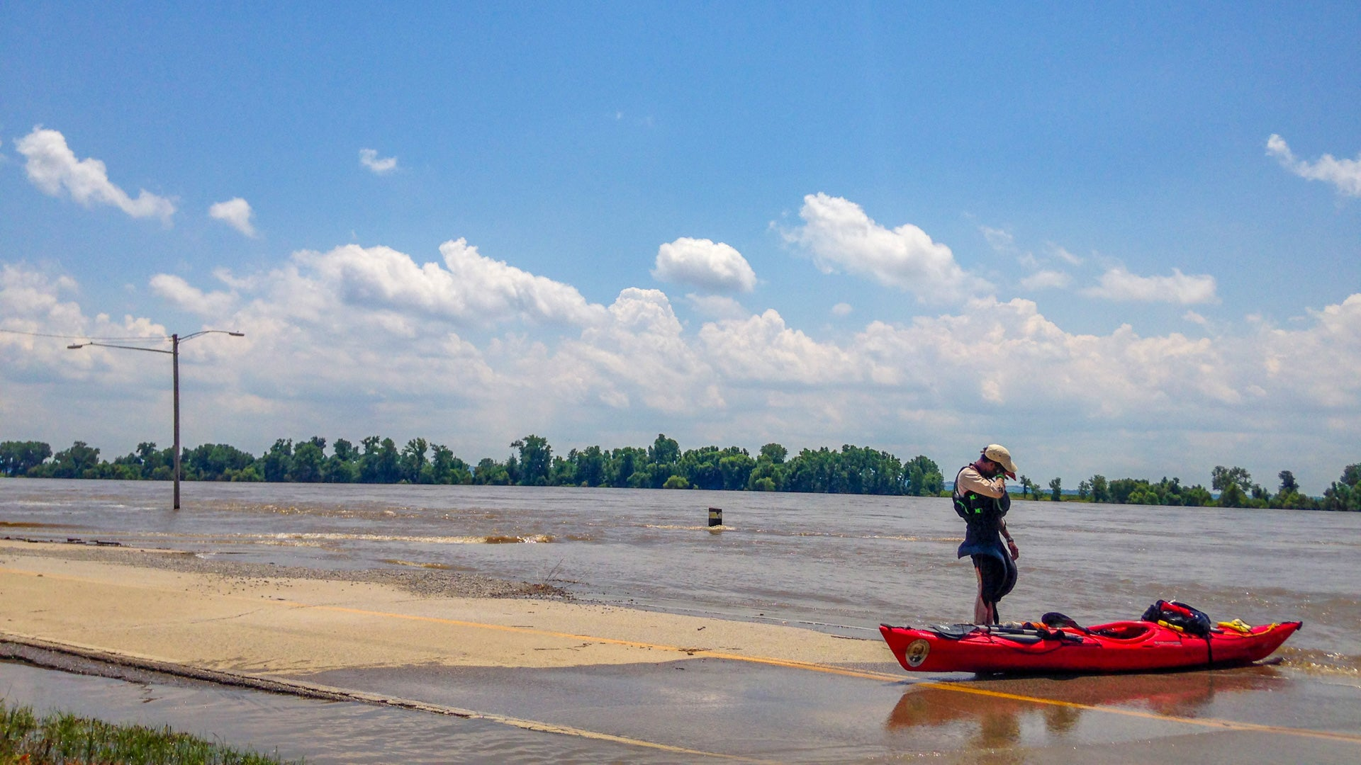 Paddling The Mississippi During Flood Season