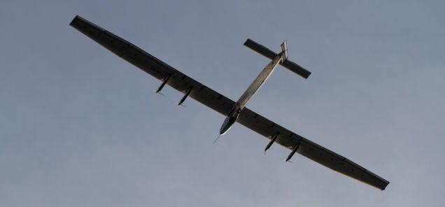 Solar Impulse Broke The Nonstop Solo Flight Record Today