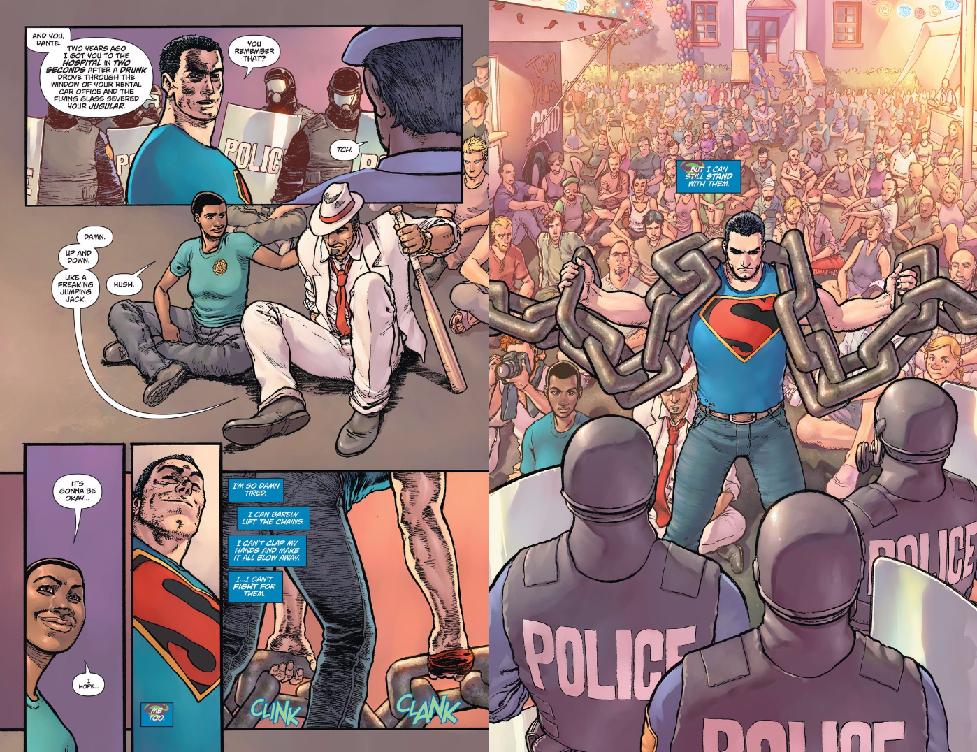 This Week's Superman Comic Is Basically About Ferguson