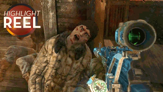 Dying Metro: Last Light Character Is Really Milking It