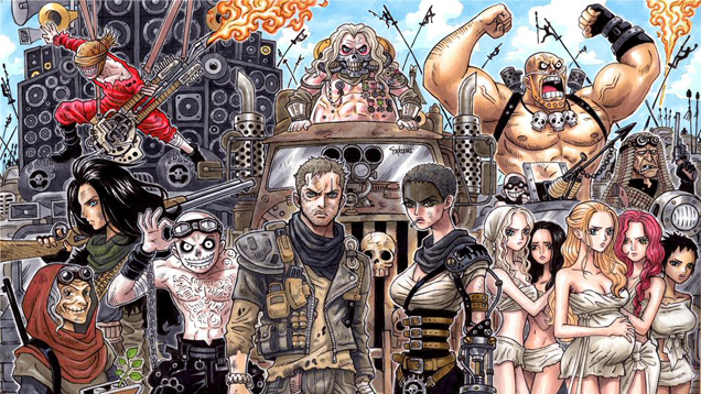 Fan Creates The Perfect Mashup of One Piece and Mad Max