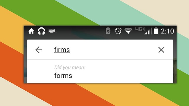 Google May Offer 'Did You Mean' Suggestions While Searching On Android