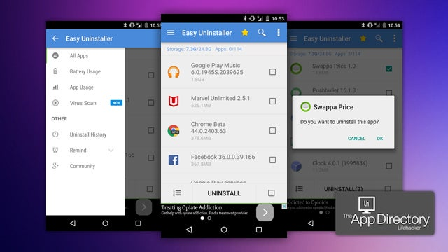 App Directory: The Best App Uninstaller For Android