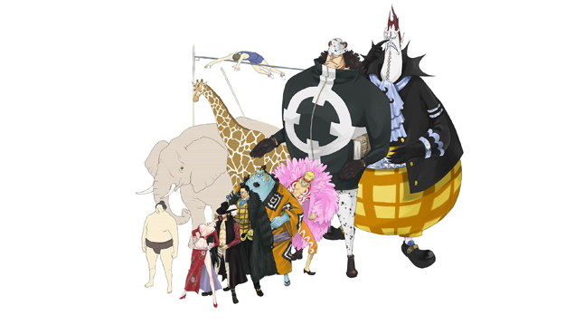These One Piece Characters Are Too Damn Big