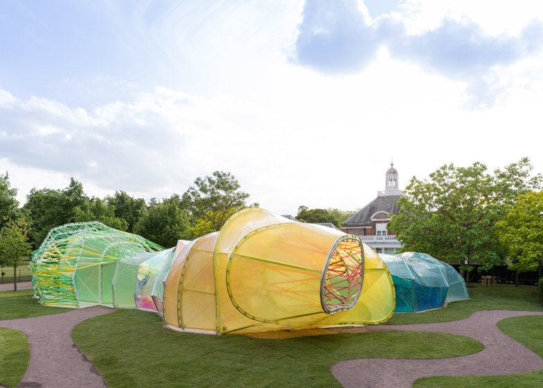 I Want to Live In This Colourful Maze Made From Sheets of Plastic