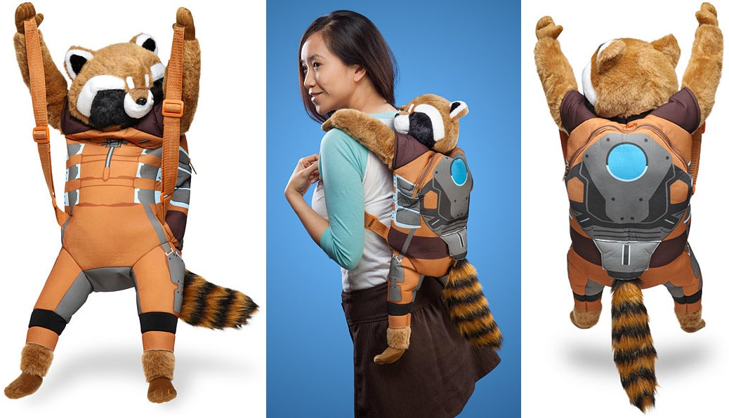 The Perfect Groot Costume Starts With This Rocket Raccoon Backpack