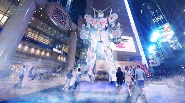 Big Gundam Statue Coming to Hong Kong