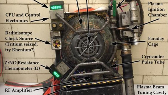 An Annotated Guide to the New Ghostbusters Proton Pack