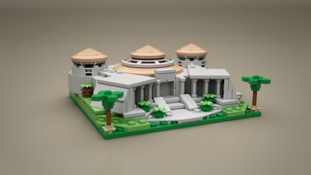 Microscale LEGO Jurassic Park Has All The Highlights