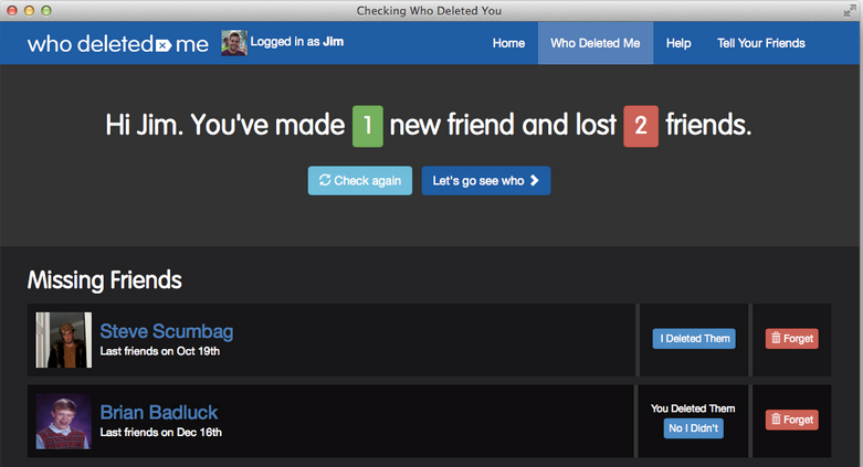 A New App Tracks Who Unfriends You On Facebook. Do You Care?