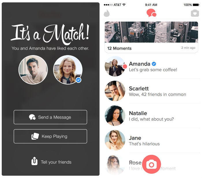 Tinder Wants You to Think You'll Boink a Celebrity