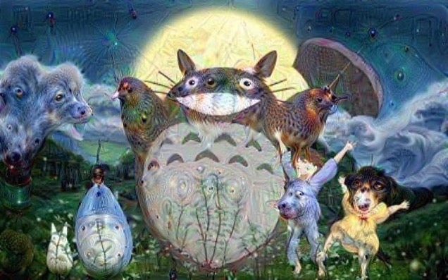 Google's Deep Dream Is Turning Anime into Nightmares