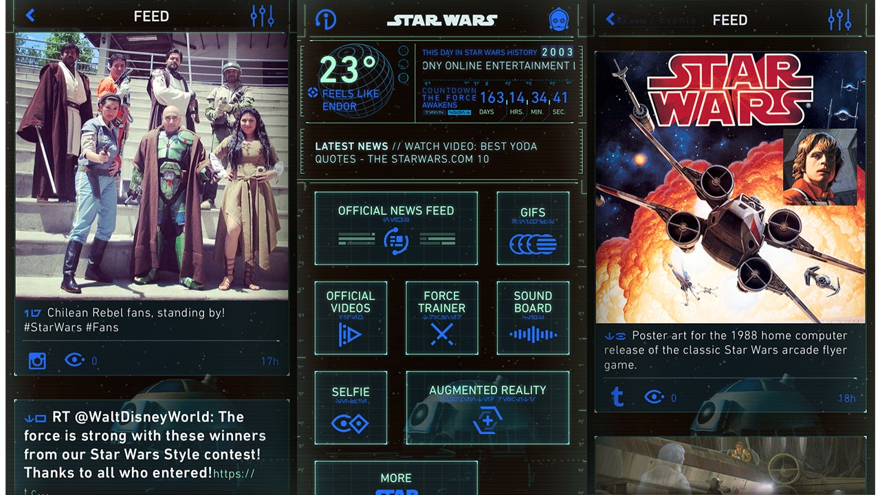 There's Finally An Official Star Wars App To Feed Your Obsession 24/7, Just Not For Aussies