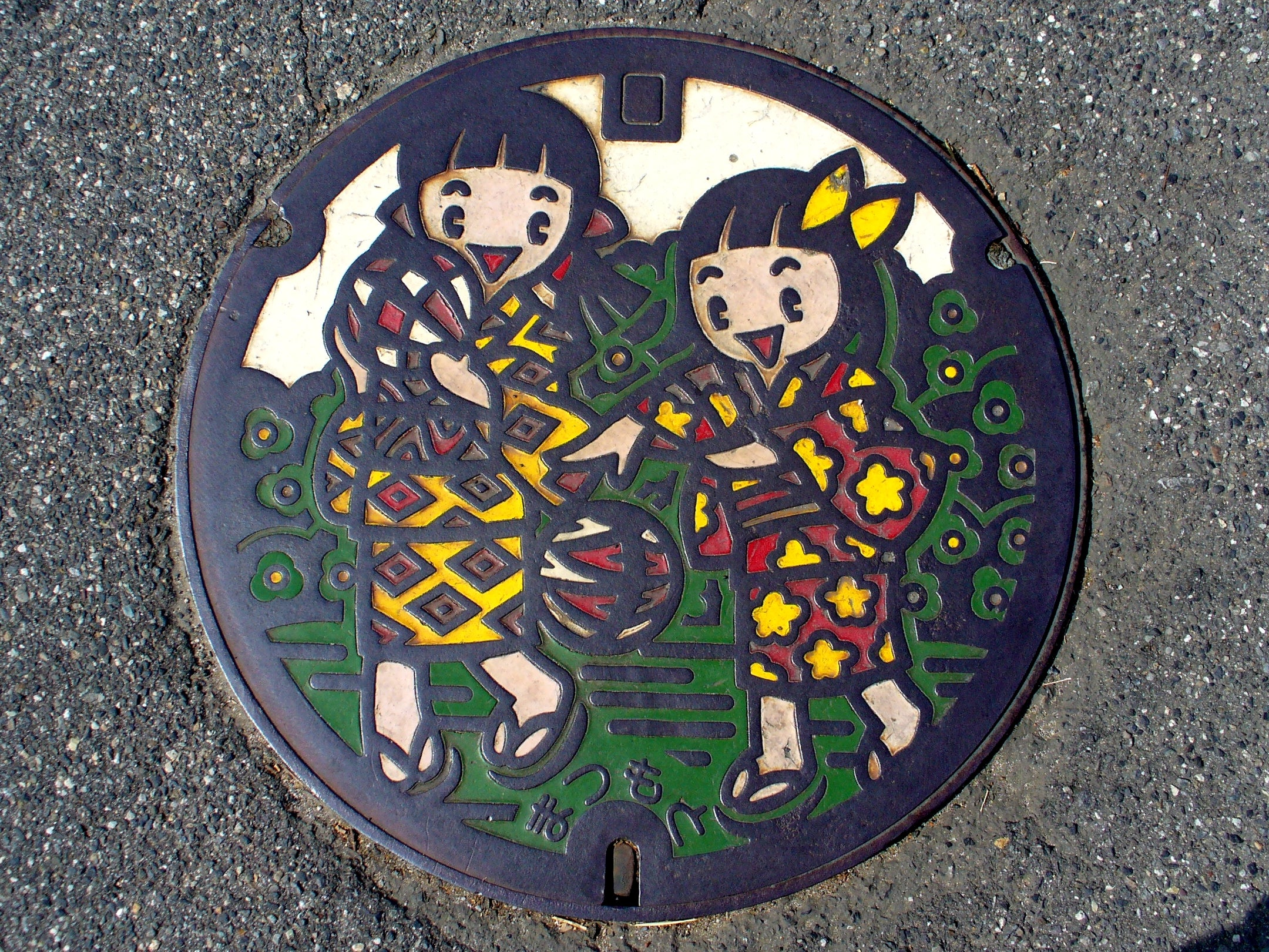The Manhole Covers in Japan Are Absolutely Beautiful
