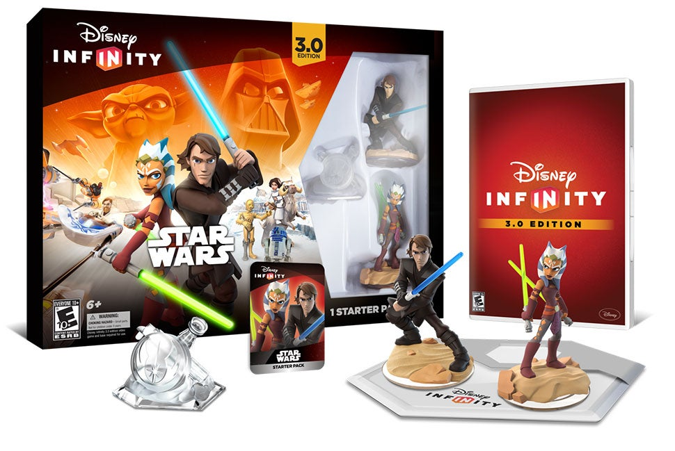 All The Disney Infinity 3.0 You Can Buy Come August 30
