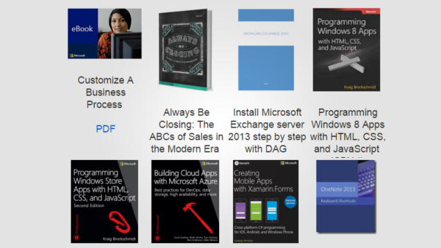 Download Over 240 Free Technical eBooks from Microsoft