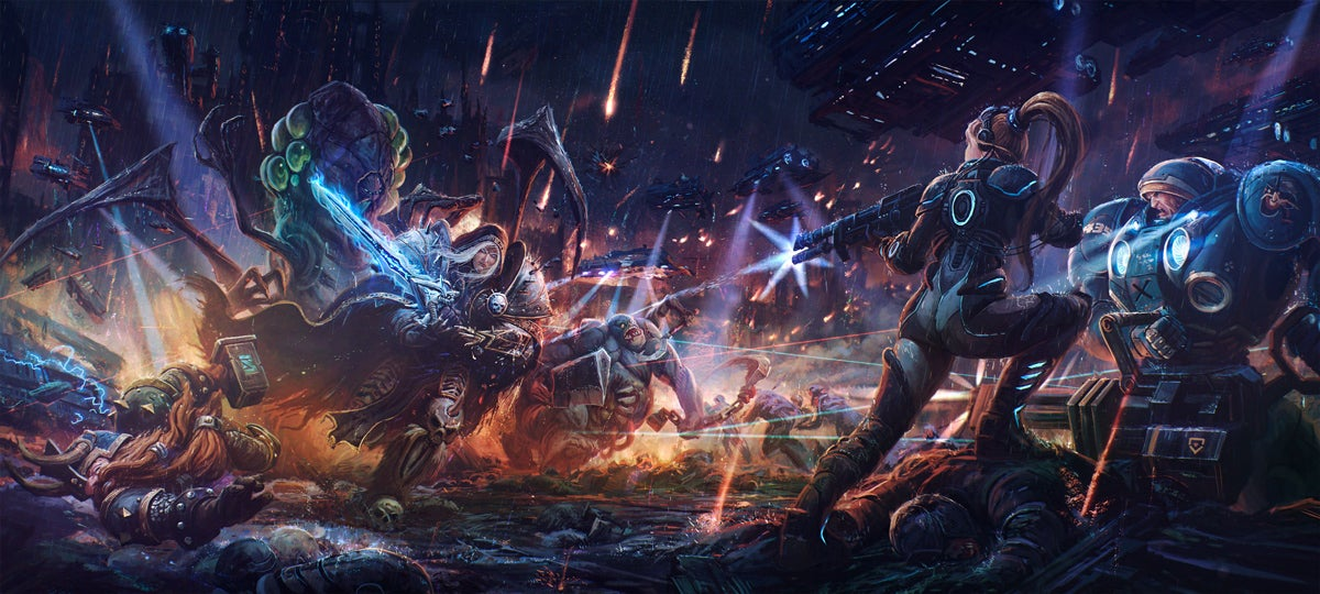 And Now For Some Great Heroes Of The Storm Fan Art