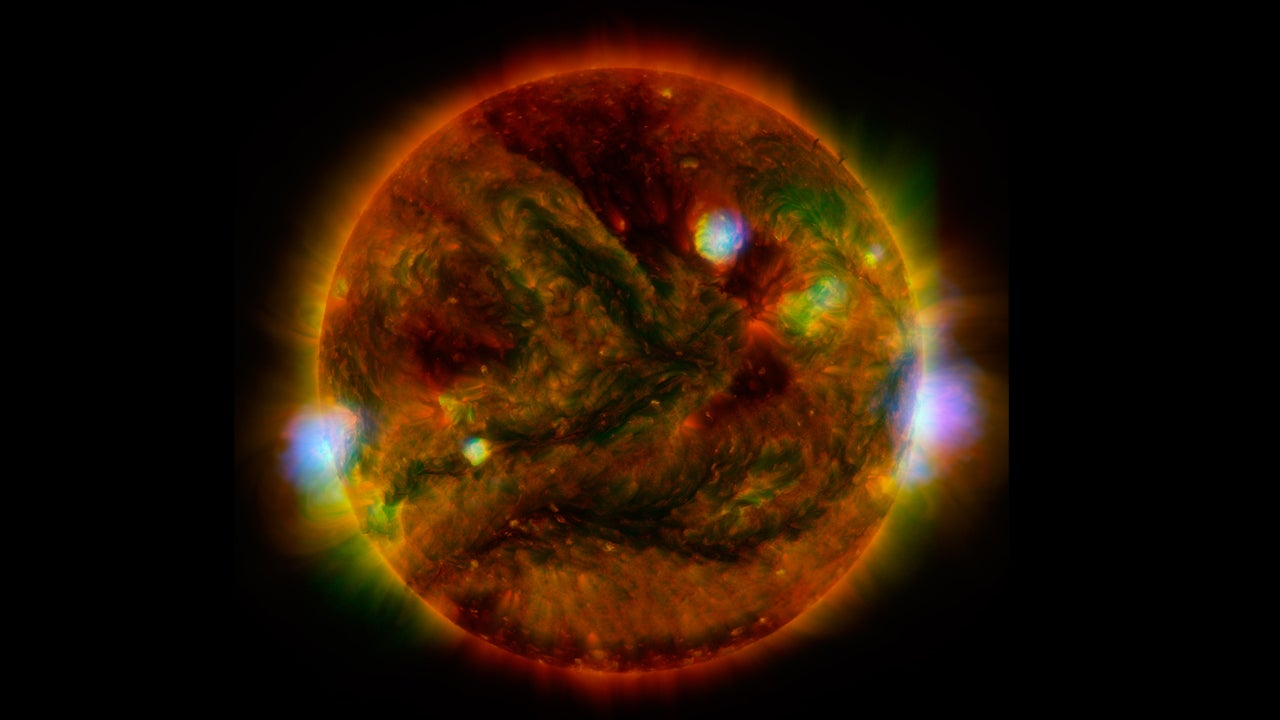 Three Telescopes Worked to Create This One Amazing Image of the Sun