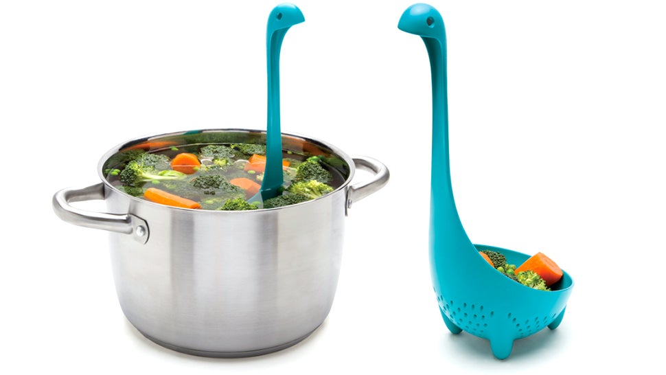 Aww, There's a Colander Spoon Version of That Adorable Loch Ness Ladle