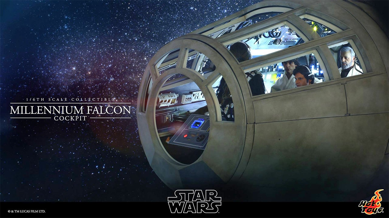 More Photos of That Millennium Falcon Cockpit Replica To Drool Over