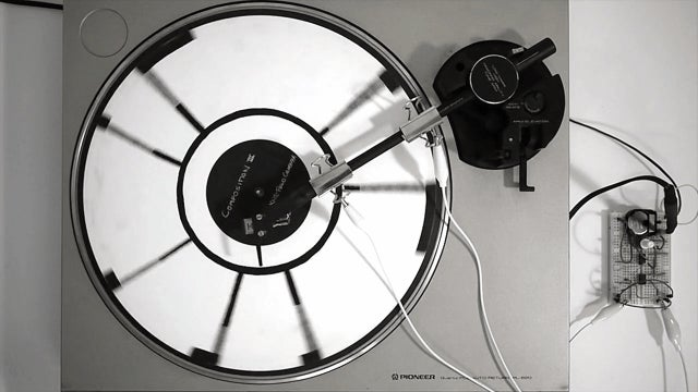Here's What a Record Painted With Conductive Ink Sounds Like
