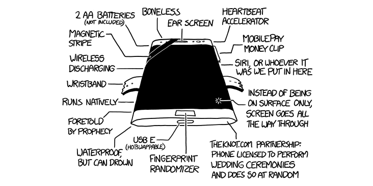 The XKCD Phone 3: So Good They Made Another One
