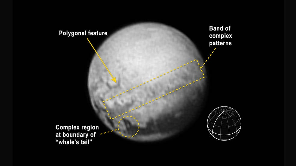 First Signs Of Geology Spotted On Pluto's Surface