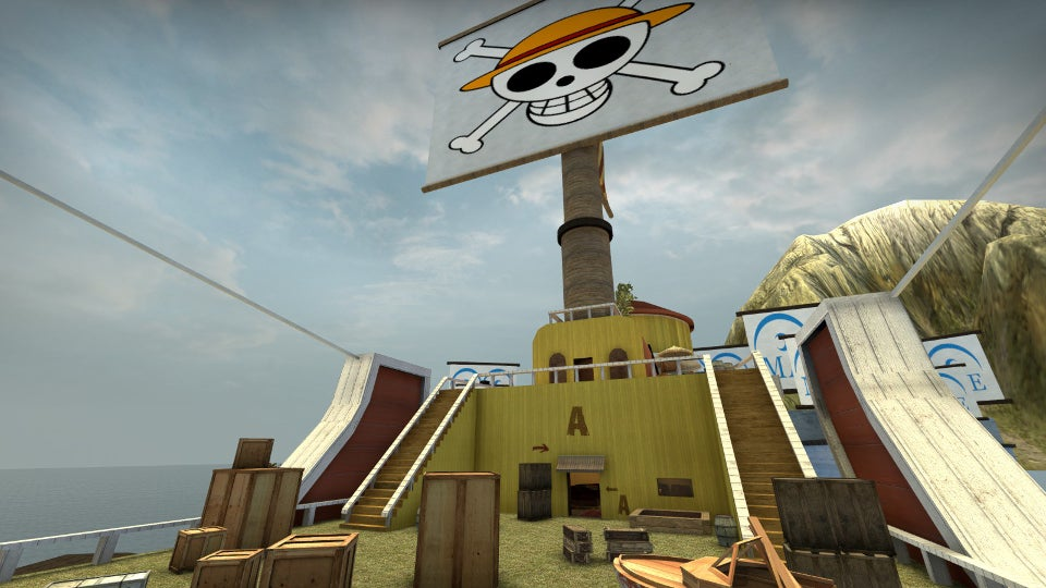 Counter-Strike Map Based On One Piece Actually Kinda Works