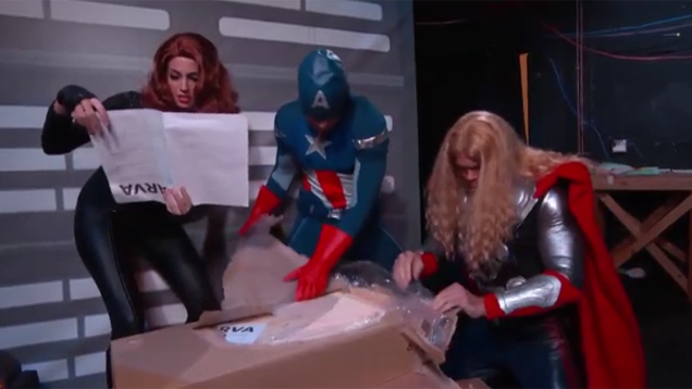 Avengers Assemble... Some IKEA Furniture