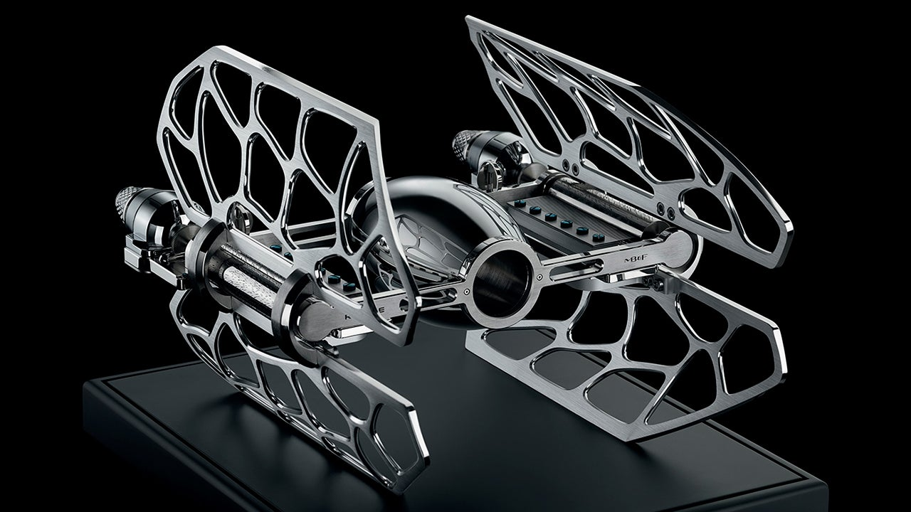 Listen To an $US18,000 TIE Fighter Music Box Play the Star Wars Theme