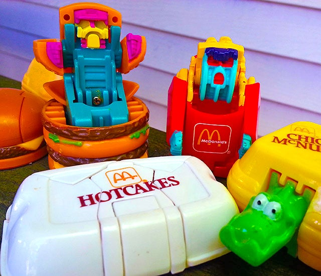 A Look Back At McDonald's Best Happy Meal Toys Ever: Changeables