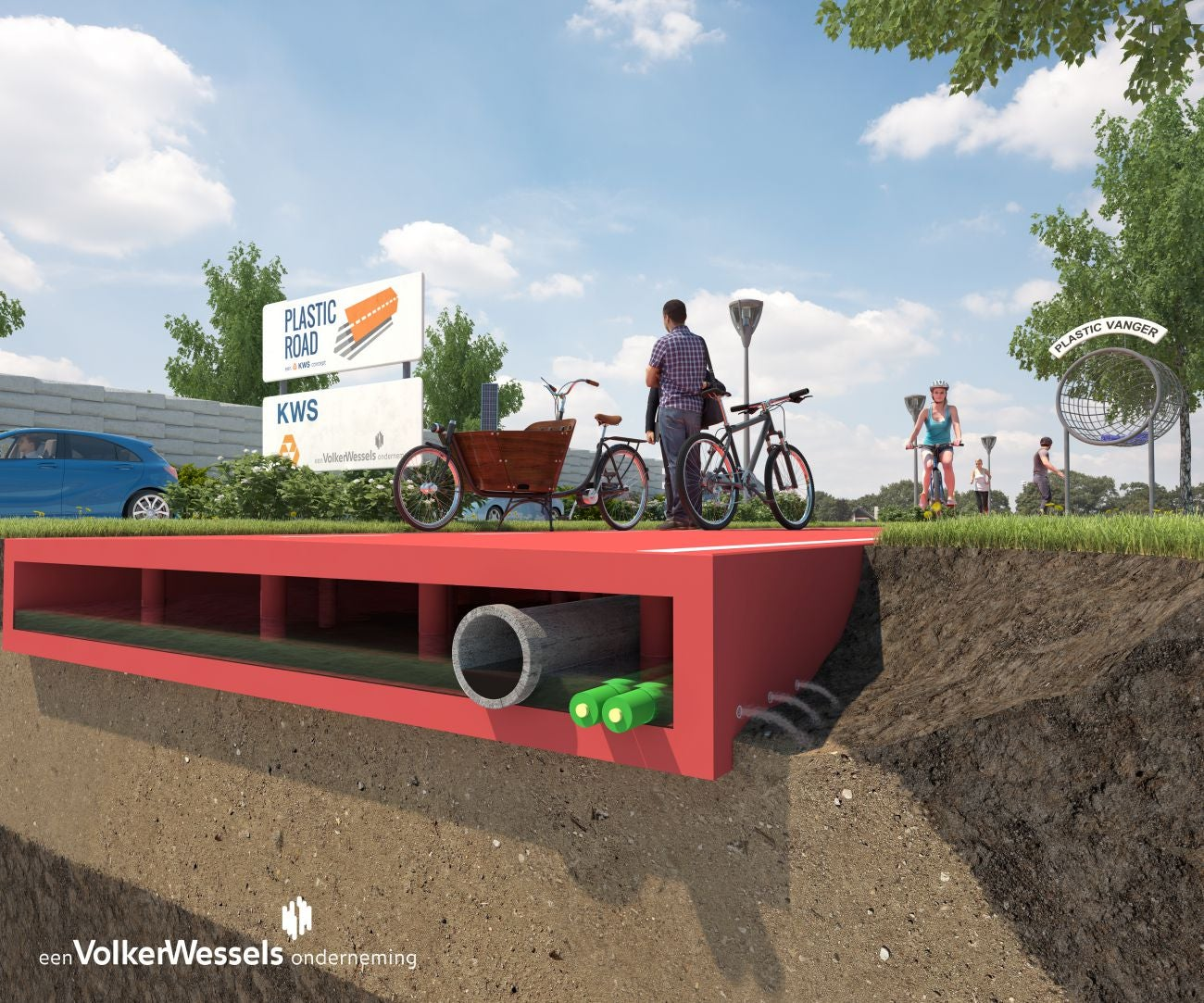 This Company Wants To Test Plastic Roads That Can Be Made In a Factory