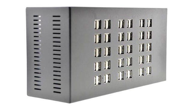 Charge 60 USB Devices All At Once With This Massive Brick