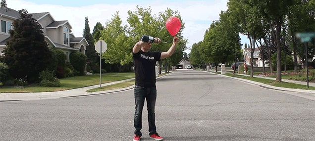 How To Turn Balloons Into Simple Fireworks That Only Go Boom