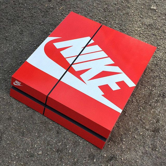Consoles As Sneaker Boxes. Awesome.