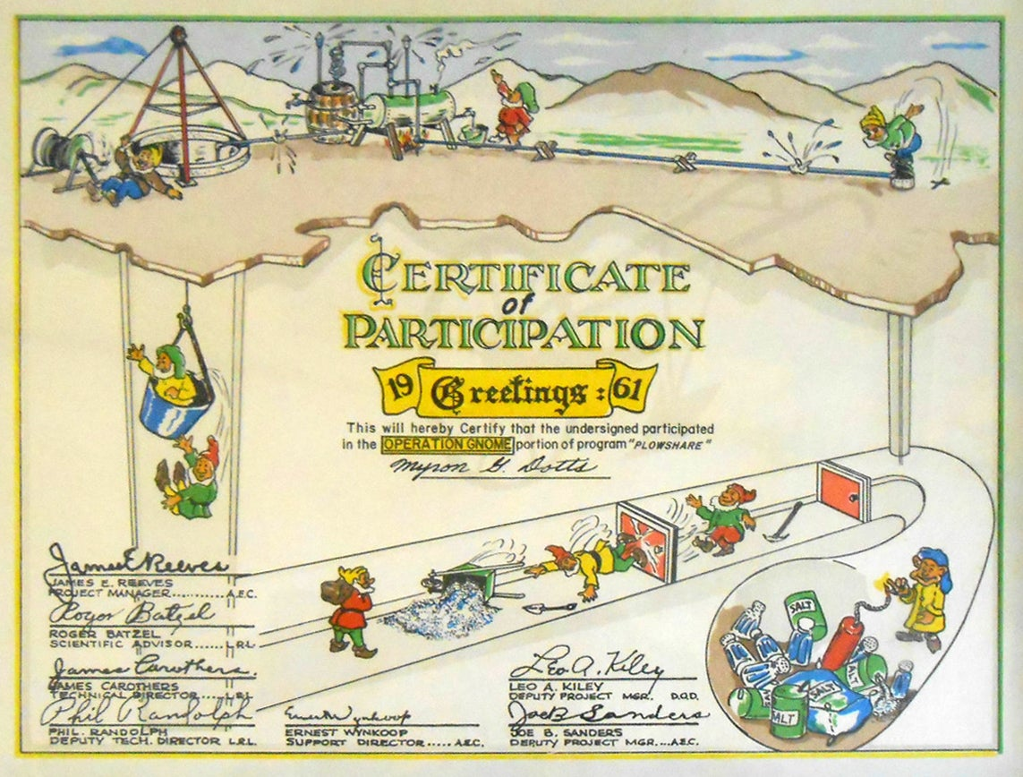 America Used to Give Out Weird Participation Awards for Nuclear Tests
