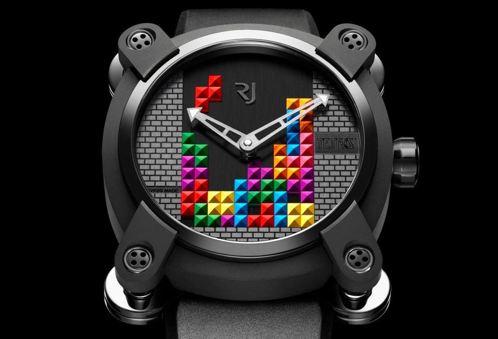 Stand Out in the Corporate World With This Geeky Tetris Watch