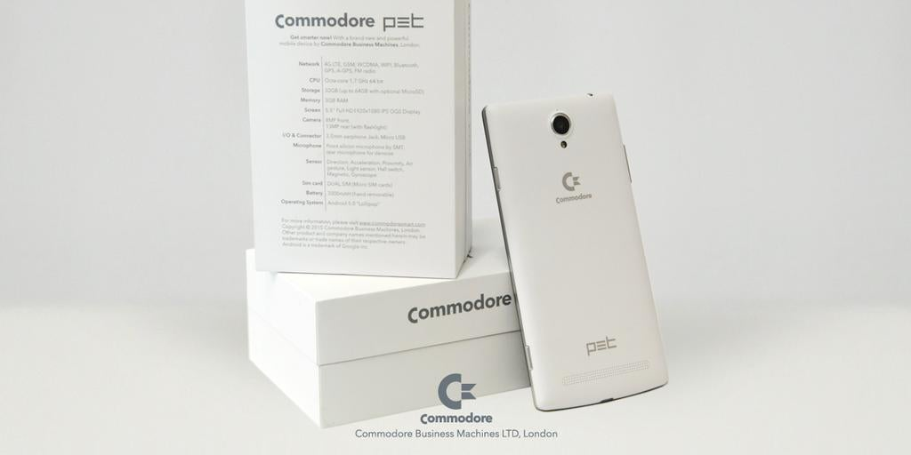 Someone Finally Resurrected the Commodore Brand for Something Useful