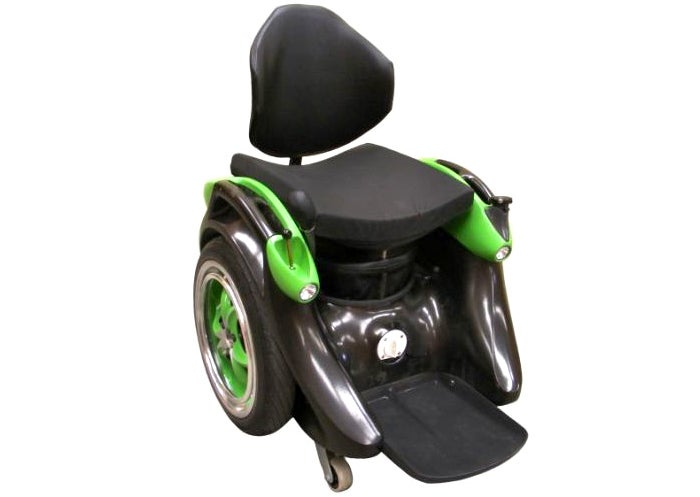 Brilliant Hands-Free Wheelchair Balances On Two Wheels Like a Segway