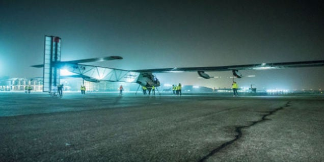Aww, Solar Impulse 2 Is So Damaged It's Grounded Until Next Year