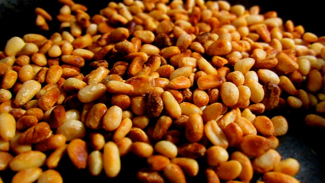 Toast Pine Nuts in Your Microwave Using Alton Brown's Method