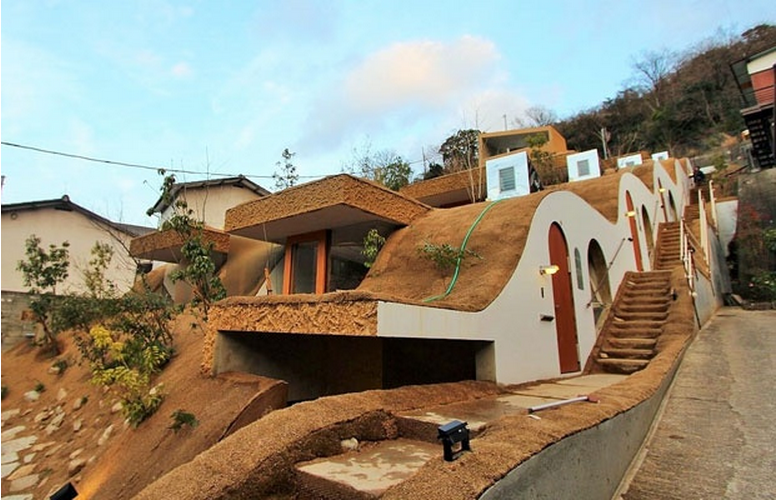 These Geothermal Homes Use Heat From The Mountainside They're Built Into
