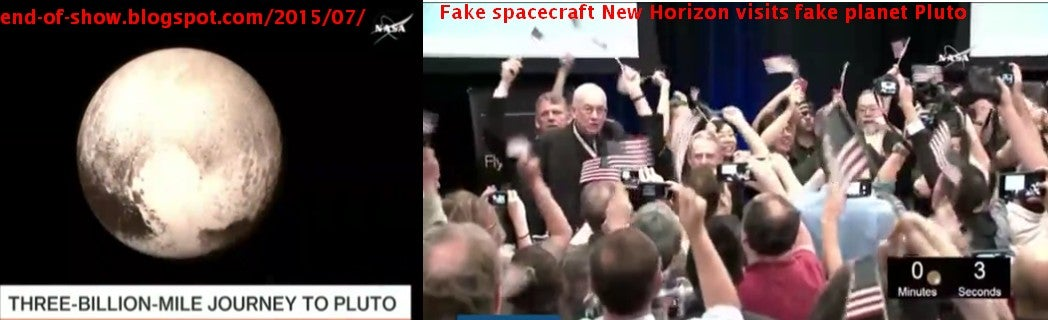 These Pluto Truthers Insist NASA Images Are Fake