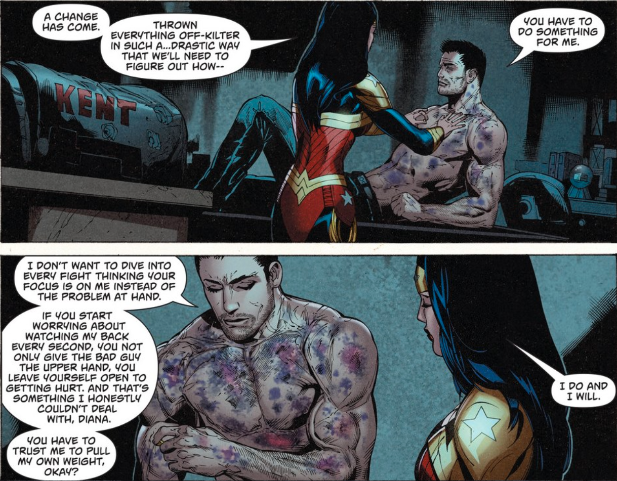 Superman and Wonder Woman Are Totally Not Breaking Up