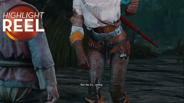 Witcher 3 Injury Is Definitely Not Serious, Nope