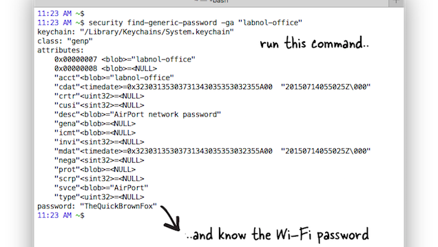 Find The Wi-Fi Password For Your Current Network With The Command Line