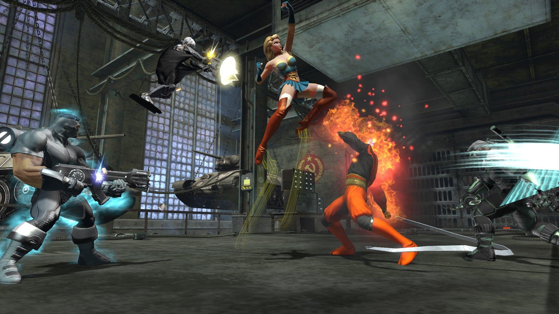 Bombshells Drop In DC Universe Online