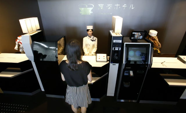 Behold, a Real Hotel Staffed By Talking Androids and Robotic Dinosaurs